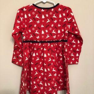 Beebay Dresses - NWT Organic Cotton Dress w/ Reindeer Pattern - 3T